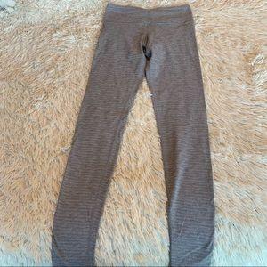 Lululemon grey wunder under full length leggings